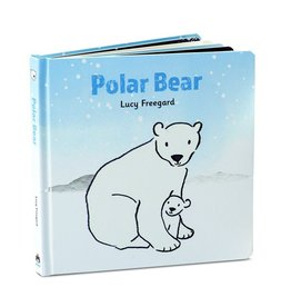 JellyCat Jelly Cat Polar Bear Book