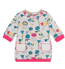 deux par deux Deux Par Deux Flowery Tale Fleece Dress