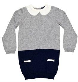 Tooby Doo Little School Girl Dress w/ faux collar