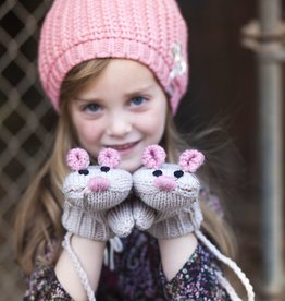 Peppercorn Kids Peppercorn Kids Mouse Mittens with Cord