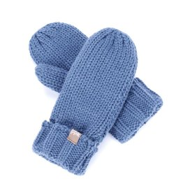 Peppercorn Kids Peppercorn Kids Solid Fold-Up Edge Mittens *more colors*