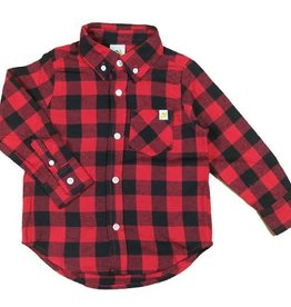hoonana Hoonana Buffalo Check Flannel Shirt