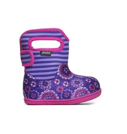 bogs Bogs Baby Classic Waterproof Boot - Pansy Stripe