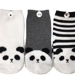 Mini Dressing Mini Dressing Panda Socks set of 3