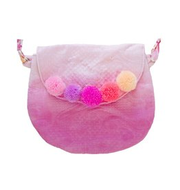 Everbloom Pompom Purse Dip Dye