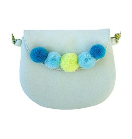 Everbloom Pompom Purse Seafoam