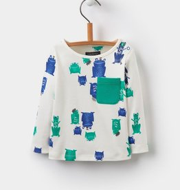 Joules Joules Rufus Printed Jersey Top