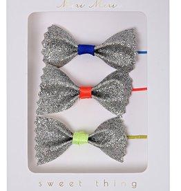 Meri Meri Meri Meri Glitter Bow Hair Pins