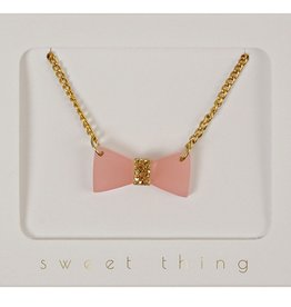 Meri Meri Meri Meri Glitter Bow Necklace