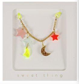 Meri Meri Meri Meri Stars & Moon Necklace