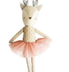 Alimrose Alimrose Ballerina Reindeer Silver & Blush