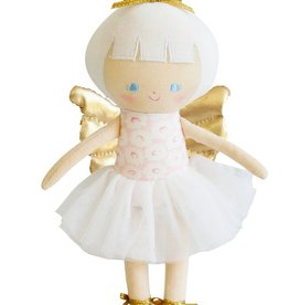 Alimrose Alimrose Gracie Baby Christmas Fairy Pink Gold