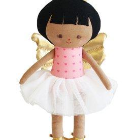 Alimrose Alimrose Evie Baby Christmas Fairy Dark Pink Gold