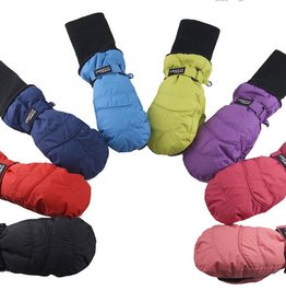 Snow Stoppers Waterproof Snow Stopper Nylon Mittens 1-3y