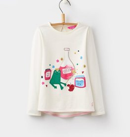 Joules Joules Ava Luxe Applique Top