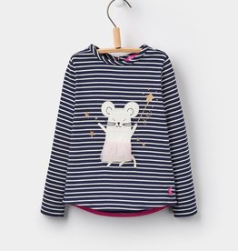 Joules Joules Ava Luxe Mouse Applique Top