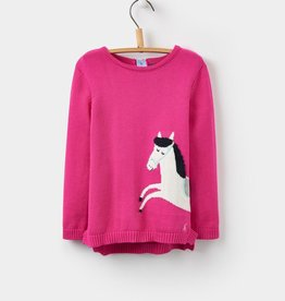 Joules Joules Horse Intarsia Sweater