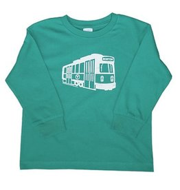 Sidetrack Sidetrack Green Line Long Tee Shirt
