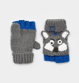 Joules Joules Wolf Character Mittens