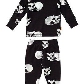 Masala Baby Organic Long Sleeve Fox PJ