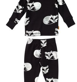Masala Baby Organic Long Sleeve Fox PJ