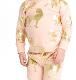 Masala Baby Organic Long Sleeve Unicorn PJ