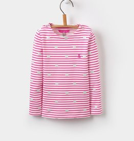 Joules Joules Harbour Print Jersey Top