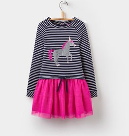 Joules Joules Hettie Unicorn Dress