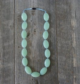 Summer Lulu Summer Lulu Oval Teething Necklace *more colors*