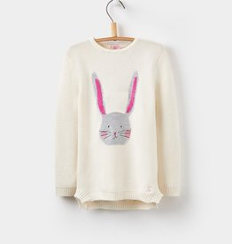 Joules Joules Winnie Intarsia Sweater, Bunny
