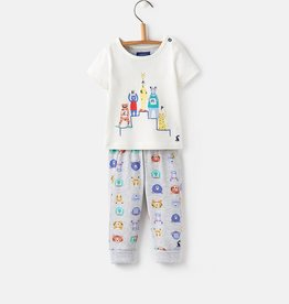 Joules Joules Doodle Applique Tee and Pants Set