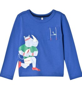 Joules Joules Dazzling Blue Rhino Tee