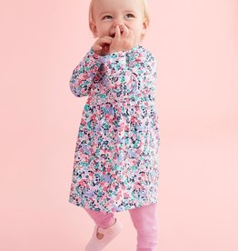 Joules Joules Christina Kitty Ditsy Floral Dress and Leggings Set