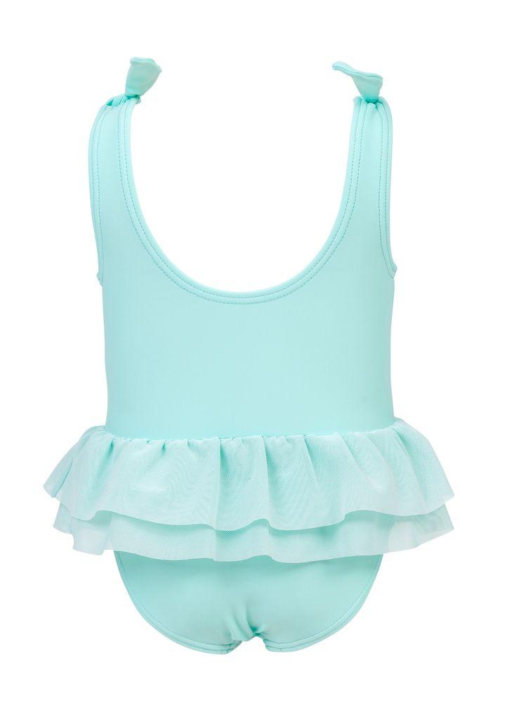 Snapper Rock Snapper Rock Swan Tulle Swimsuit UV50