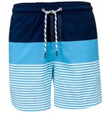 Snapper Rock Snapper Rock Navy Blue Block Stripe Board Shorts UV50+