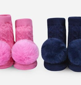 Waddle Waddle Pom Pom Rattle Socks