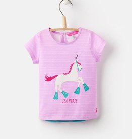 Joules Joules Maggie Applique Tee Shirt