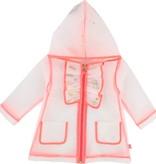 Billieblush Billieblush Transparent Raincoat with Confetti Inside