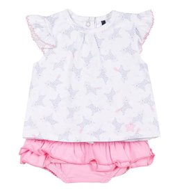 3 pommes 3 Pommes Unicorn Baby Set