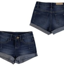 Mayoral Mayoral Denim Cuffed Shorts