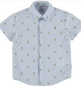 Mayoral Mayoral Short Sleeve Palm Tree Shirt