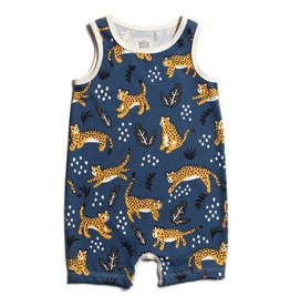 Winter Water Factory Winter Water Factory Tank-Top Romper- Wildcats