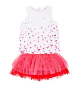 deux par deux Deux Par Deux The Flamingo Edit Top and Skirt Set