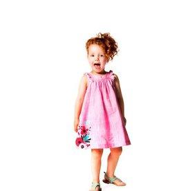 deux par deux Deux Par Deux High Style Solid Cotton Dress