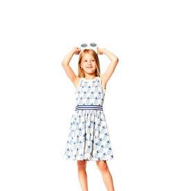 deux par deux Deux Par Deux Pineapple Print Dress