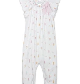 Feather Baby Feather Baby Popsicles Bow Romper