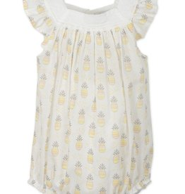 Feather Baby Feather Baby Pineapples Square-Neck Bubble