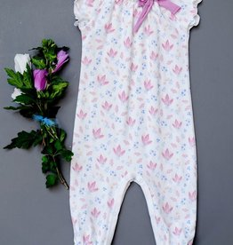 Feather Baby Feather Baby Vivian Bow Romper