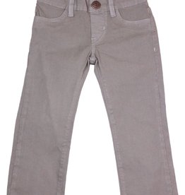 hoonana Hoonana Steel Gray Poplin Pants