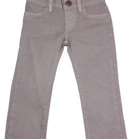 hoonana Hoonana Steel Gray Poplin Pants